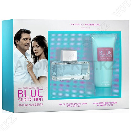 Antonio Banderas - Blue Seduction for Women - Набор