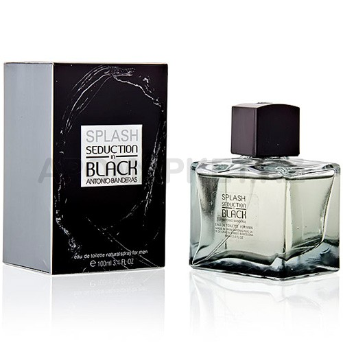 Antonio Banderas Splash In Black Seduction