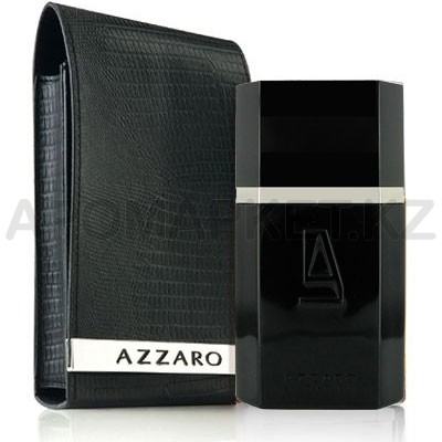 Azzaro Silver Black Leather Collector Edition